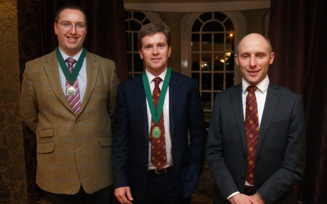 Andrew Hardcastle invested as President of the YAAV