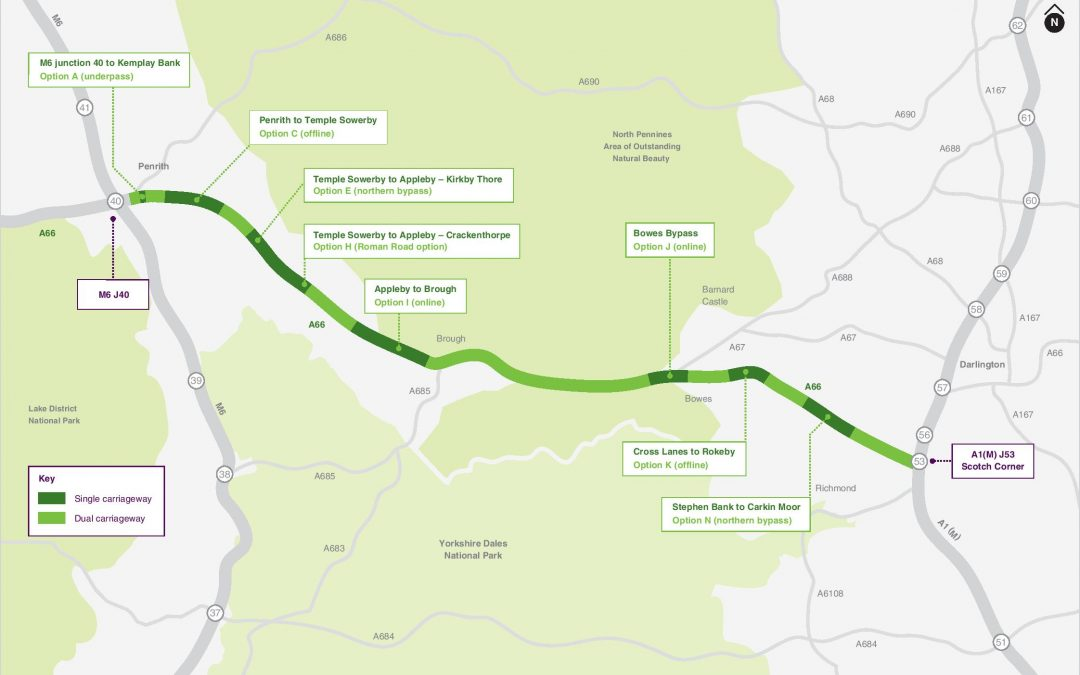 A66 Northern Trans-Pennine Route Compensation Advice